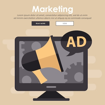 Digitale marketing en reclame