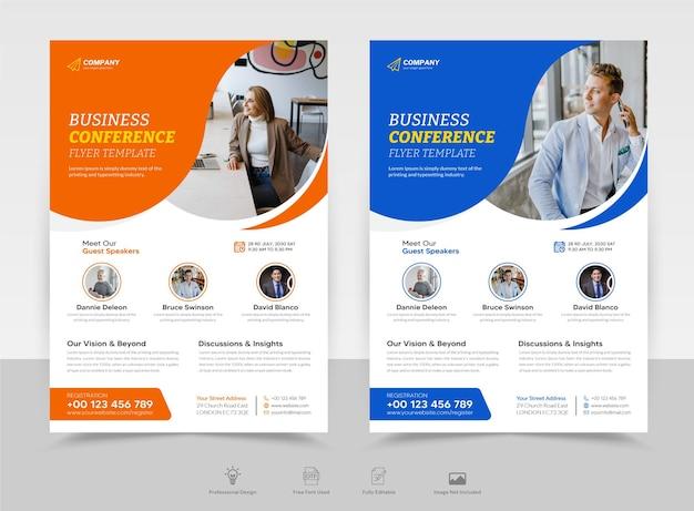 Digitale marketing live webinar flyer poster brochure voorblad sjabloon premium vector