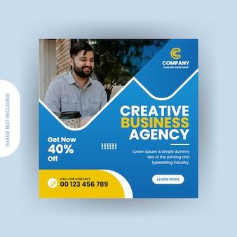 Digitale marketing social media instagram-post of webbannerontwerp
