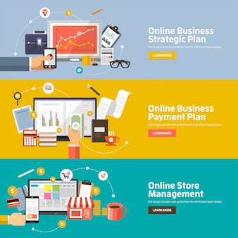 Digitale marketingillustraties