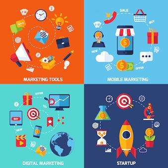Digitale marketingset