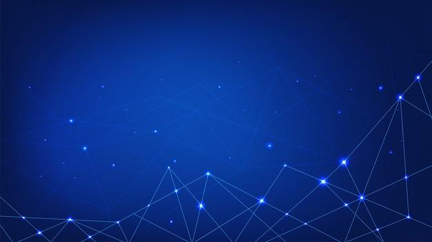Digitale technische achtergrond