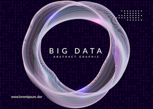 Digitale technologie abstracte achtergrond. kunstmatige intelligentie, deep learning en big data-concept.