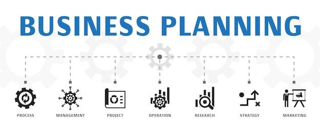 Digitale transformatie concept sjabloon. horizontale banner. bevat iconen zoals digitale diensten, internet, cloud computing, technologie