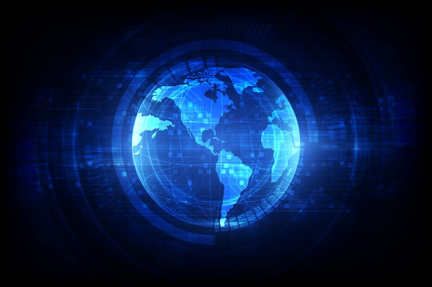 Digitale wereldwijde simulatietechnologie