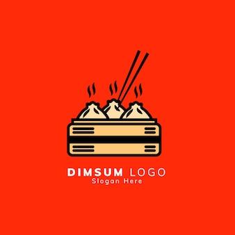 Dimsum logo ontwerp