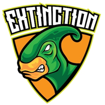 Dino extinct esport-logo