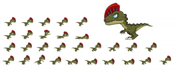 Dino gamesprites