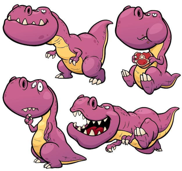 Dinosaur stripfiguur
