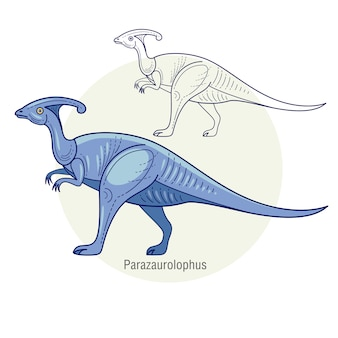 Dinosaurparazaurolophus.