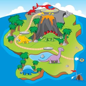 Dinosaurs island bordspel