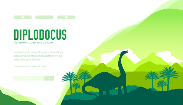 Diplodocus-bestemmingspagina-sjabloon