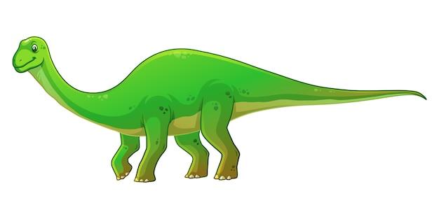 Diplodocus cartoon afbeelding