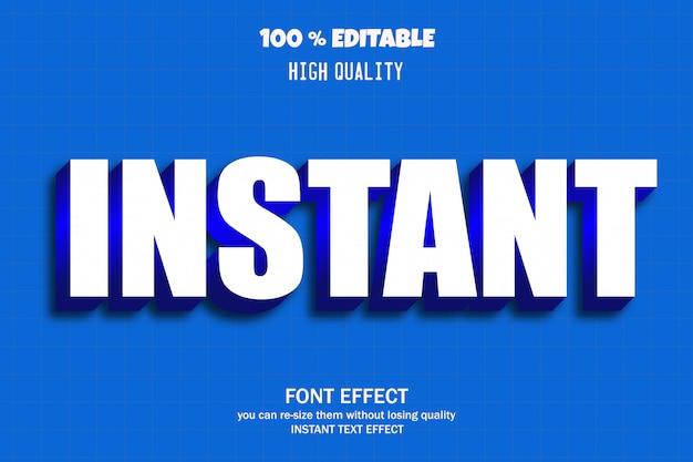 Directe tekst, bewerkbaar lettertype-effect