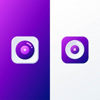 Disc icoon applicatie