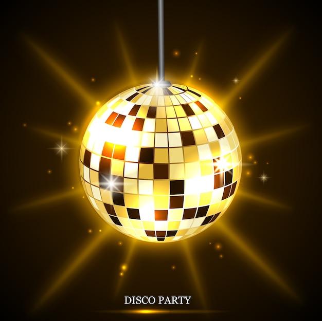 Disco bal achtergrond
