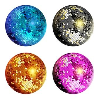 Disco bal set