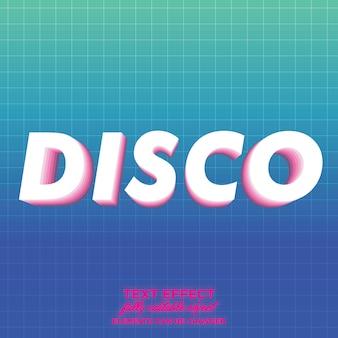 Disco-teksteffect met gelaagde schaduw