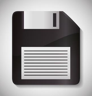Diskette pictogram.