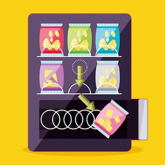 Dispenser van chips machine elektronisch