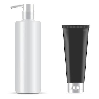 Dispenser voor cosmetische verpakkingen