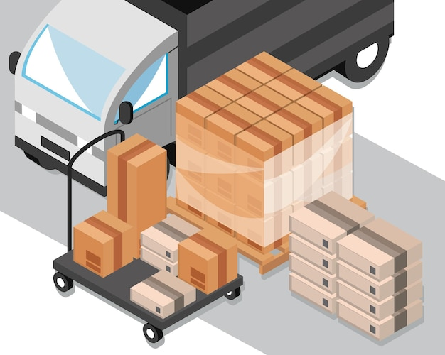 Distributie en logistiek