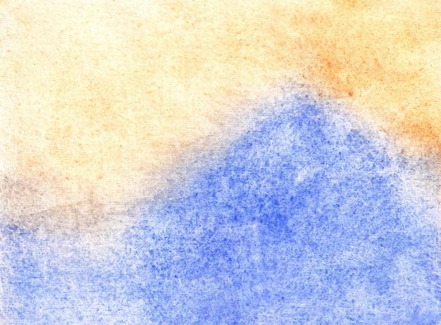Dit is een abstracte aquarel handgeschilderde achtergrondstructuur