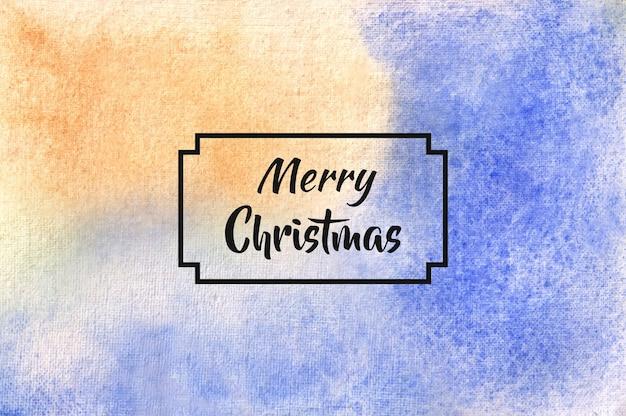 Dit is een achtergrondstructuur van een kerst abstracte aquarel arcering borstel