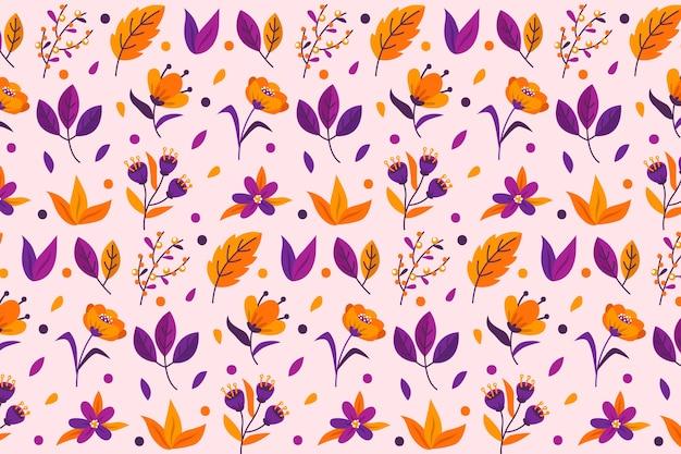 Ditsy bloemenachtergrond