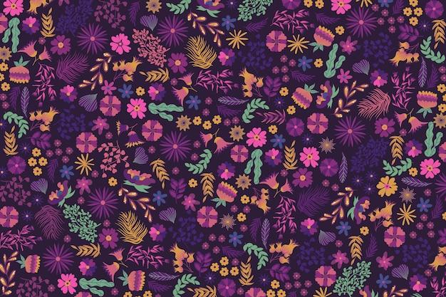 Ditsy bloemenprint achtergrond