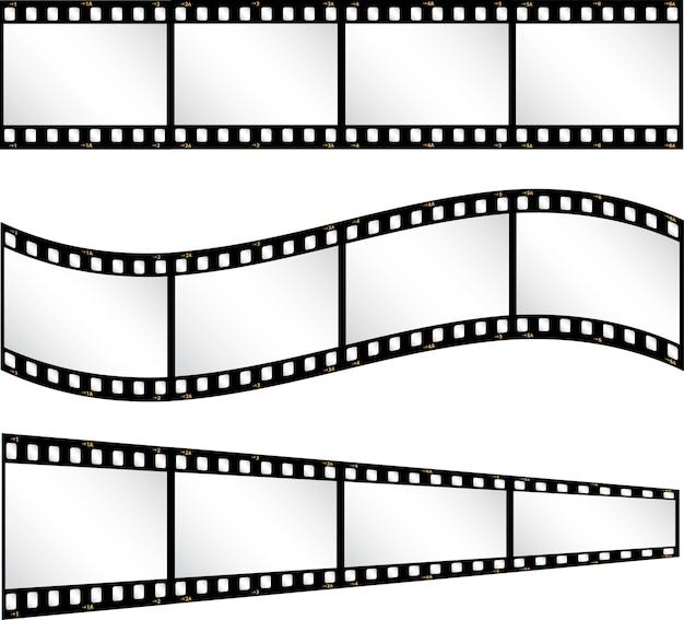 Diverse filmstrip achtergrond