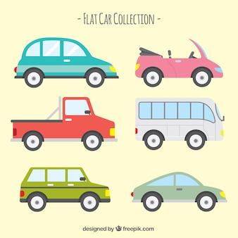 Diverse transporten in plat design