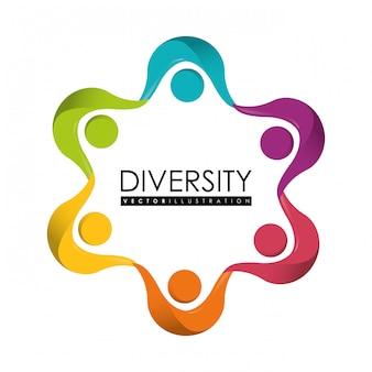 Diversiteit mensen ontwerpen