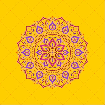 Diwali achtergrond ontwerppatroon