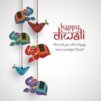 Diwali achtergrond