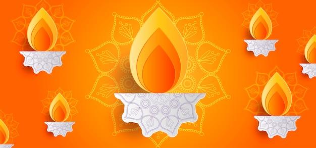 Diwali-achtergrond