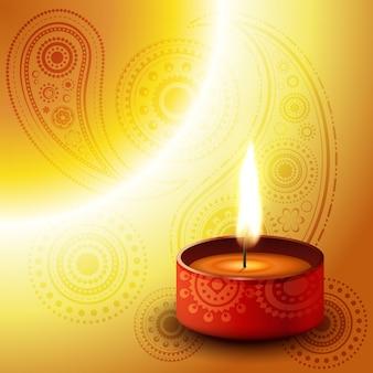 Diwali diya achtergrond