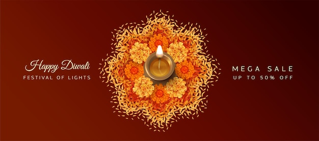 Diwali-festivalbanner