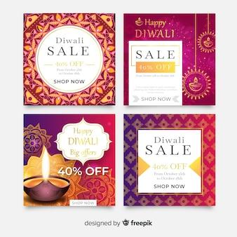Diwali instagram postverzameling