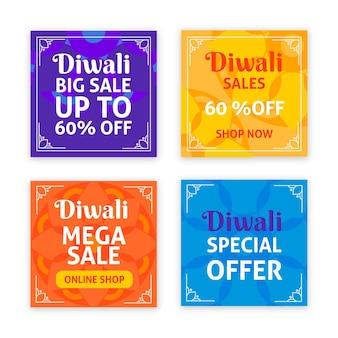 Diwali verkoop instagram post
