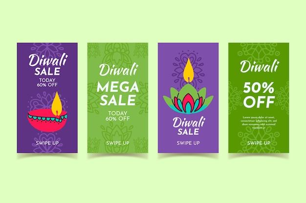 Diwali verkoop instagram posts