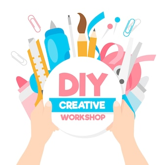 Diy creatieve workshop