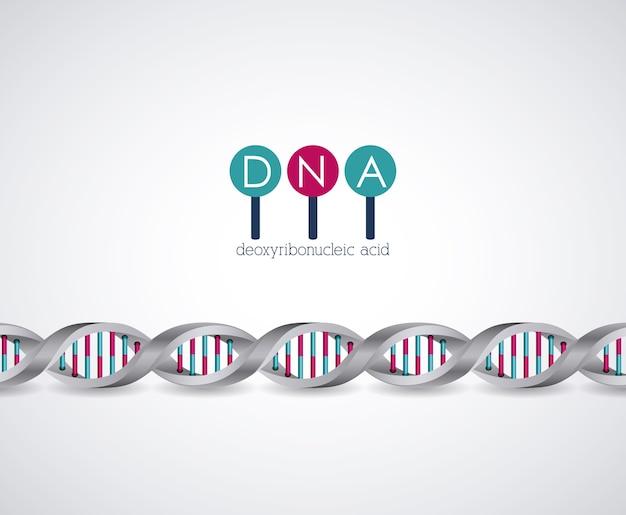 Dna-structuur chromosoom pictogram