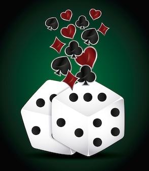 Dobbelstenen en poker