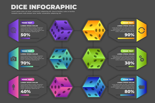 Dobbelstenen infographic