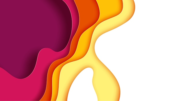 Document golflaag met de herfstkleuren abstracte achtergrond.