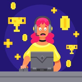 Doe de prestaties online game-verslaving