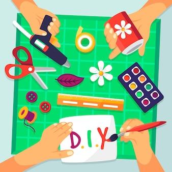 Doe het zelf creativiteit workshop