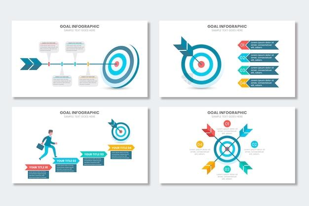 Doelen infographic collectie