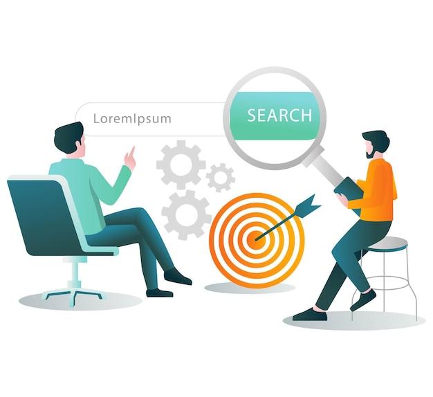 Doet een zoekopdracht in de browser